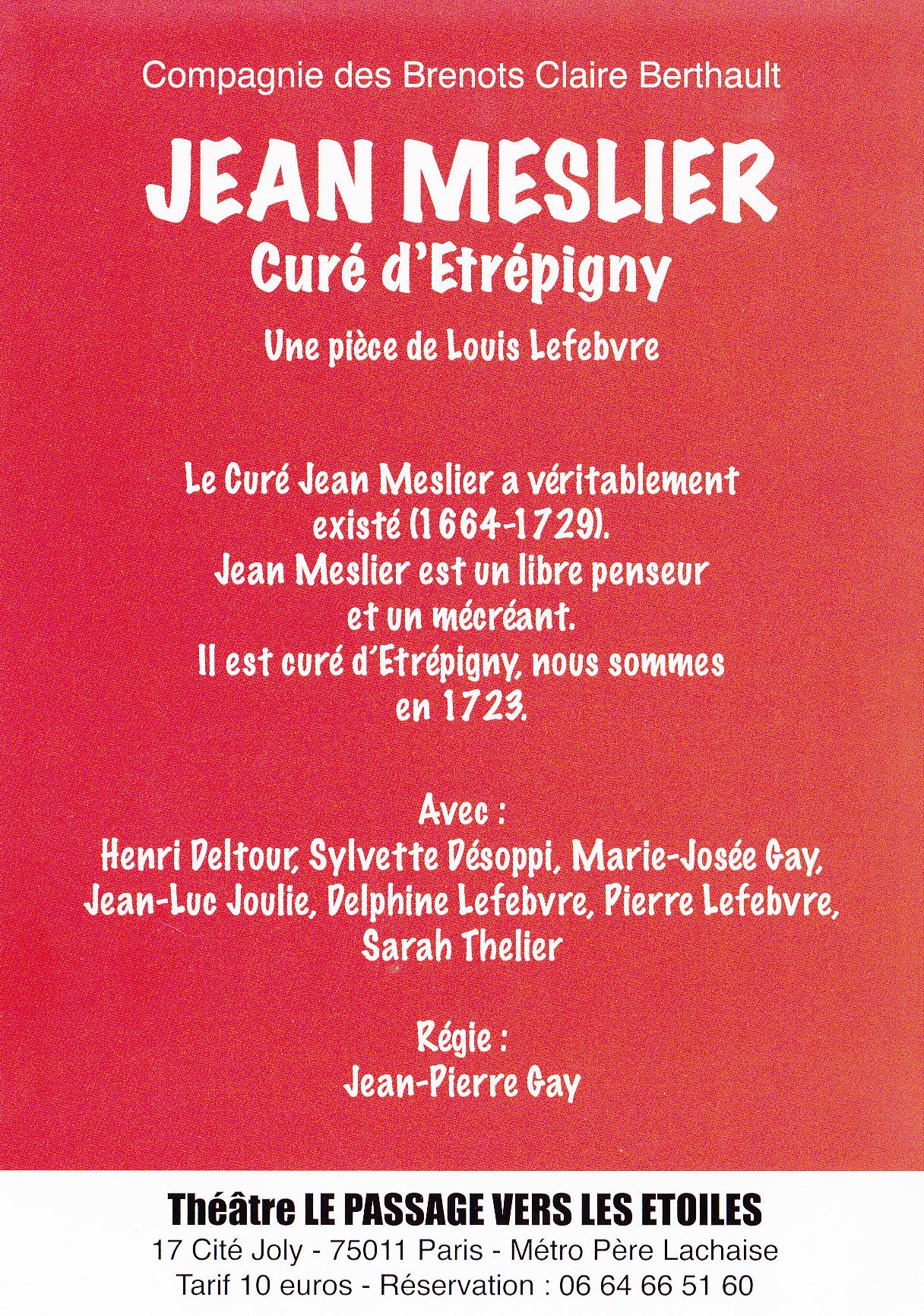 La Phalene Jean Meslier Cure D Etrepigny